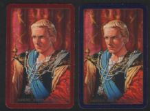 Playing cards Laurence Olivier as Hamlet 1960's,